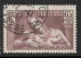 Yvert 356 Maury 356 - 65 C + 25 C Lutte Contre La Syphilis - O - Oblitérés