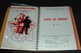 GUIDE DU MINEUR Explosifs Mine Mines Charbonnages 1956 - Documents Historiques