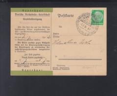 Dt. Reich Expresgut PK 1935 Neugersdorf - Alemania