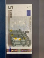 5 EURO FIRMA TRICHET L E010A1 FDS/ UNC - 5 Euro