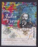 14.- SAINT PIERRE AND MIQUELON 2018 WRITER JULES VERNE - Scrittori