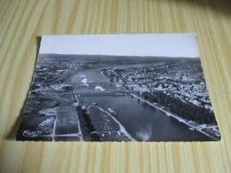 Strasbourg (67).Vue Aérienne Sur Le Rhin - Les Ponts De Kehl. - Strasbourg