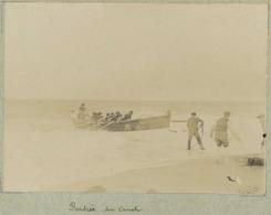 Blainville Circa 1900. Rentrée Du Canot. Manche. Normandie. - Lieux