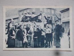 CPA DE BARR Libération De Barr 28/11/1944 - Rue De La Kirneck - Barr