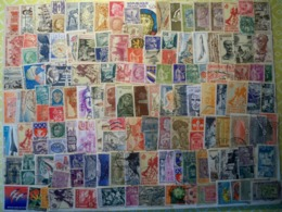 Plus De 140 Timbres Colonies Françaises & France:  Px De Départ :4,40 Euros PORT COMPRIS - Briefmarken