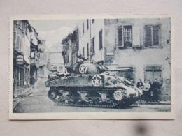 CPA DE BARR Libération De Barr 28/11/1944 - Rue Des Boulangers - Barr