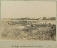 """Agon-Coutainville Circa 1900. Le Village, Vue Prise Du """" Marais """" à Marée Basse. Manche. Normandie. - Lieux"""
