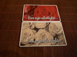 2 Phonecards Private Netherlands (Mint,Neuve) Rare - Nederland