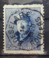 Roi Casqué COB 171 Belle Oblitération Télégraphique Roeselaere - 1919-1920 Roi Casqué