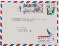 Bt - Enveloppe Poste Aérienne MAROC - 1955 - Aéreo