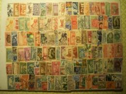 130 Timbres Des Colonies Françaises Obl. Prix De Départ 6,50 Euros PORT COMPRIS - Briefmarken