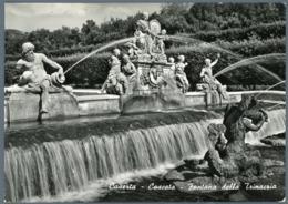 °°° Cartolina - Caserta Cascata Fontana Della Trinacria Nuova °°° - Caserta