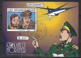 OCB Nr 3283 BL112  112 Blake & Mortimer Studio Jacobs Strip BD Comic Cartoon - Centrale Stempel - Bloques 1962-....