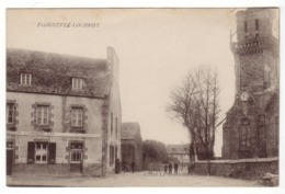 Plounevez-Lochrist - Le Goff Commerçant - Cliché Le Bourdonnec - France