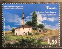 Bosnia And Hercegovina, 2018, Mi: 762 (MNH) - Mosques & Synagogues