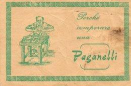 CALZATURE PAGANELLI - CIABATTINO - SCARPE - Publicités