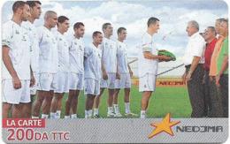 Algeria - Nedjma - Football - Flag Transmission, Exp.31.12.2014, GSM Refill 200DA, Used - Algeria