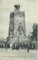 Les Fêtes De La Victoire 14 Juillet 1919 Monument Aux Morts Pour La Patrie - Unclassified
