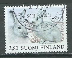 Finlande YT N°1344 Le Lièvre Des Forets Oblitéré ° - Finlande