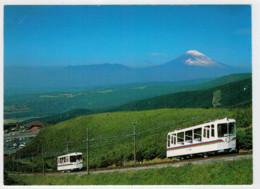 JAPAN    TRAIN- ZUG- TREIN- TRENI- GARE- BAHNHOF- STATION- STAZIONI  2  SCAN  (NUOVA) - Trains
