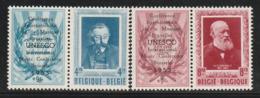 BELGIQUE - PRIVE - PR119/20 ** (1953) Surchargeé En Hommage à La Conférence Internationale De L'UNESCO - Belgium