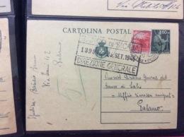 ITALIA REPUBBLICA Sociale 1945 Intero Postale - Storia Postale
