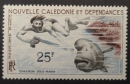 Nouvelle-Calédonie: Yvert N° PA 69 (Chasseur Sous-marin, 1955-62) Neuf ** - Luftpost