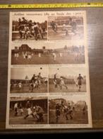 1932 1933 M FOOTBALL ANTIBES LILLE BOXE CLETO LOCATELLI KID BERG ORLANDI LECADRE NITRAM NEKOLNY - Vieux Papiers