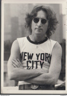1990 JOHN LENNON , NEW YORK CITY, 1974 PHOTOGRAPH GY BOB GRUEN - Musica E Musicisti