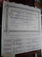 Soc. Alsacienne PRODUITS CHIMIQUES / Obligation Hypothéquaire De 500 Francs - N° 24.212 ( Zie/Voir Foto ) ! - Industrie