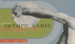 HOLANDA. Olympic Games. 1996. Tirada 15000 Ex. TB010. (087) - Juegos Olímpicos