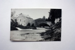 Durbuy  L'Ourthe   CARTE PHOTO  Archives TCB - Durbuy