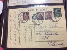 ITALIA REPUBBLICA Sociale 1945 Intero Postale - 4. 1944-45 Repubblica Sociale