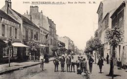 MONTGERON - Rue De Paris - Montgeron