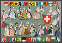 110693/ SUISSE, Costumes Traditionnels - Schweiz
