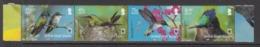 2013 Virgin Islands WWF Hummingbirds Complete Strip Of 4  MNH @ FACE VALUE - Britse Maagdeneilanden