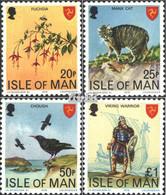 GB - Insel Man 133-136 (kompl.Ausg.) Postfrisch 1978 Freimarken - Man (Insel)