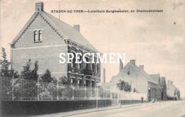 Luisthuis Burgmeester En Dixmudestraat - Staden - Staden