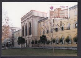 15.- SPAIN ESPAGNE 2000 MAXIMUM CARD ARCHITECTURE UNIVERSITY OF LLEIDA - Otros