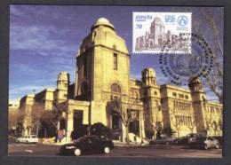 16.- SPAIN ESPAGNE 2000 MAXIMUM CARD ARCHITECTURE UNIVERSITY OF VALENCIA - Otros