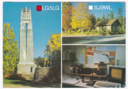 Radio Amateur QSL Card Sweden Karlstad - Radio Amateur