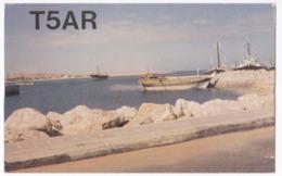 Radio Amateur QSL Card Somalia Africa - Radio Amateur