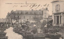 BOURGES PLACE DE LA NATION MARCHE AUX LEGUMES - Bourges