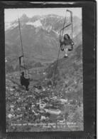 AK 0350  Schruns Mit Hochjochbahn Gegen Zimba - Photo Wolf Um 1955 - Schruns