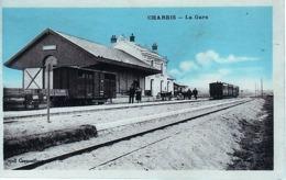 36] Indre CHABRIS-- LA GARE-PEU COMMUNE-NON CIRCULEE - France