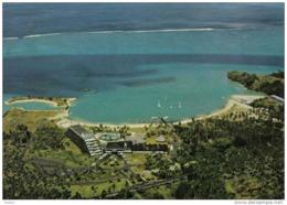 Carte Postale Tahiti  Et L'hotel Maeva Beach Vue D'avion  Trés Beau Plan - Tahiti