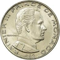 Monnaie, Monaco, Rainier III, Franc, 1982, SUP, Nickel, KM:140 - Monaco