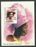 ANGOLA 2010 AFRICAN WOMEN'S DAY MS MNH - Angola