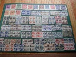 LOT Collection FRANCE BLOCS DE 4 Oblitéré (Q.60) Avant 1960 - France