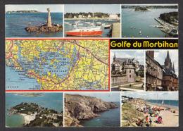 91294/ FRANCE, Golfe Du Morbihan, D'après Michelin N°63 - Carte Geografiche